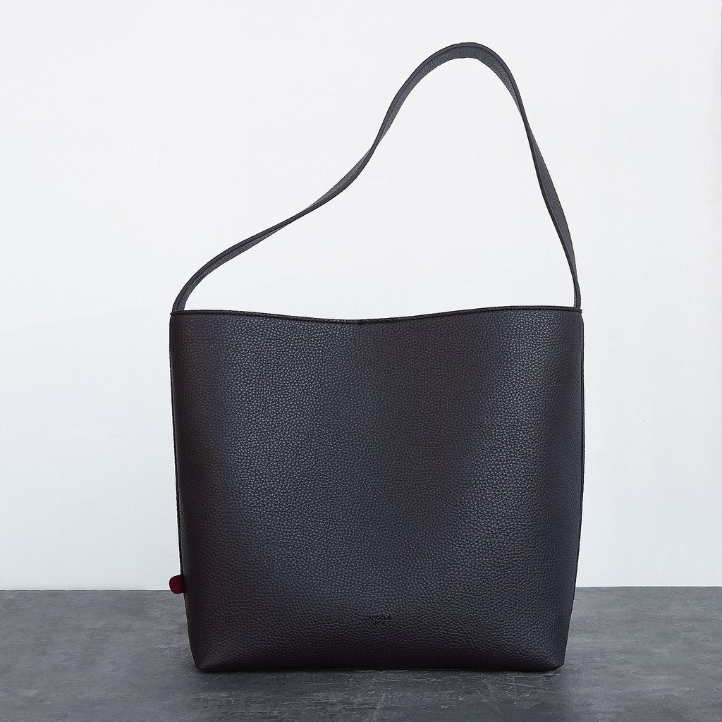 Jane Shoulder Bag in Dark Brown
