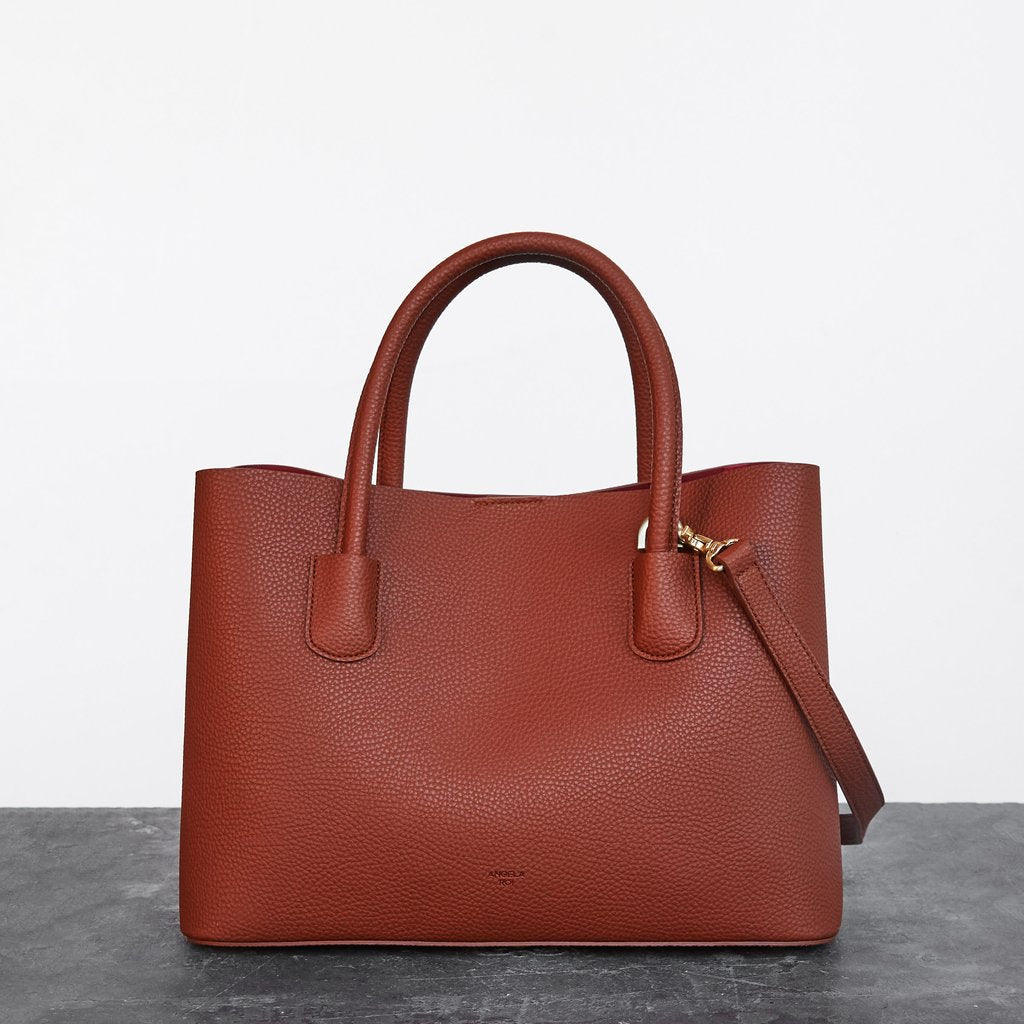 Cher Tote with Signet in Brown