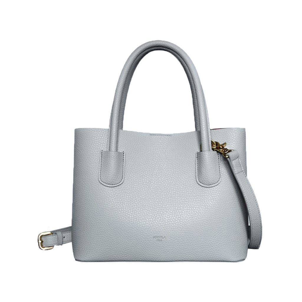 Cher Tote Mini with Signet in Light Grey