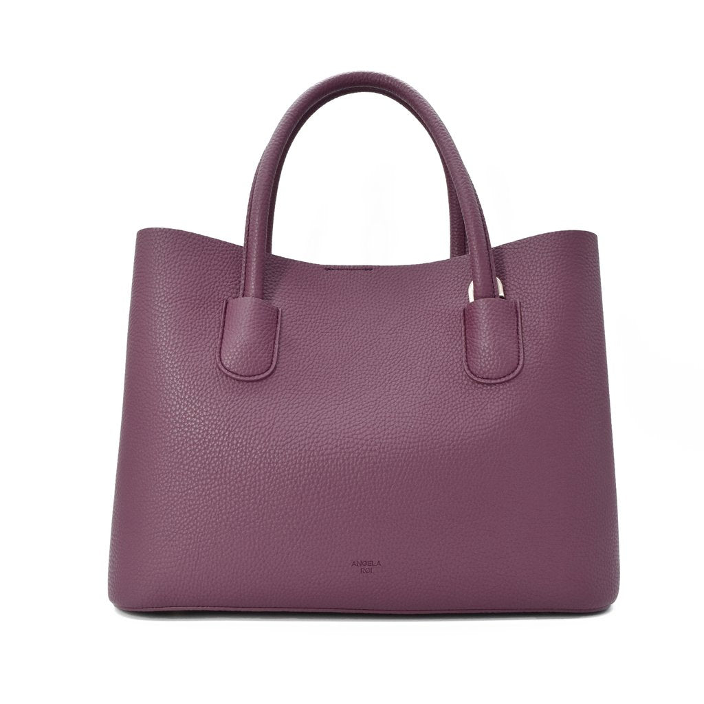 Cher Tote with Signet in Purple