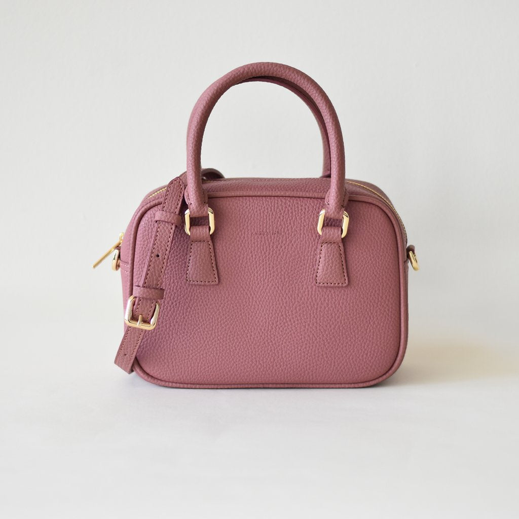 Angela Roi Vegan Barton Mini in Nude Pink, front view