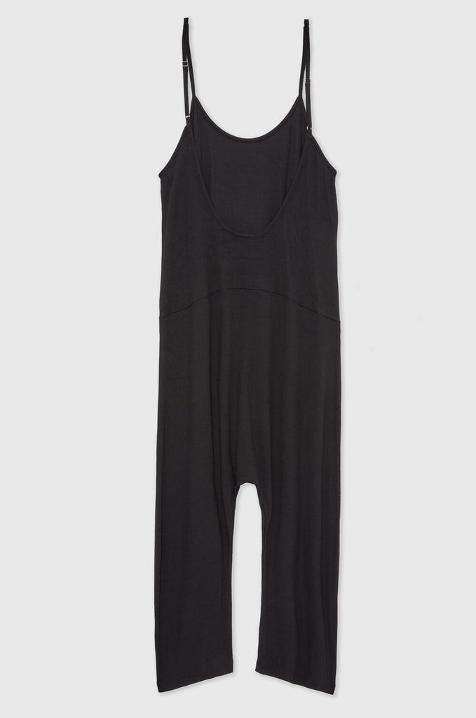 The Slouchy Romper - Black
