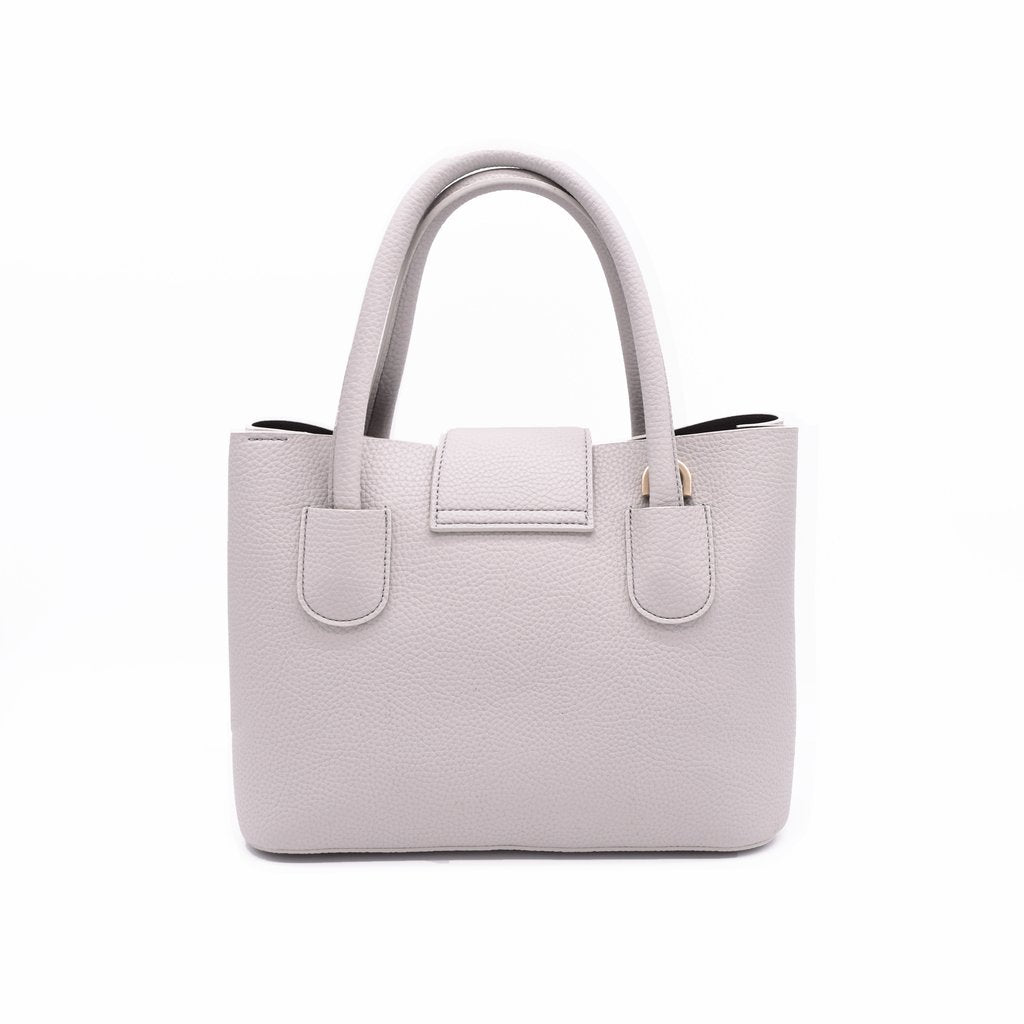 Cher Tote Mini 20 with Signet in Light Grey