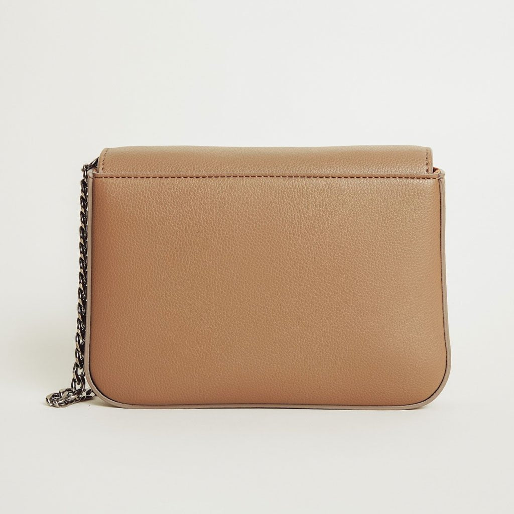 Hamilton Mini Chain Cross-body in Mud Beige