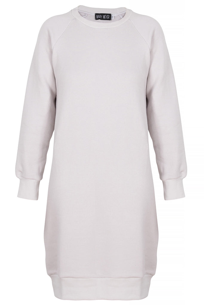 Mary Meyer dusty white Sweatshirt dress,
