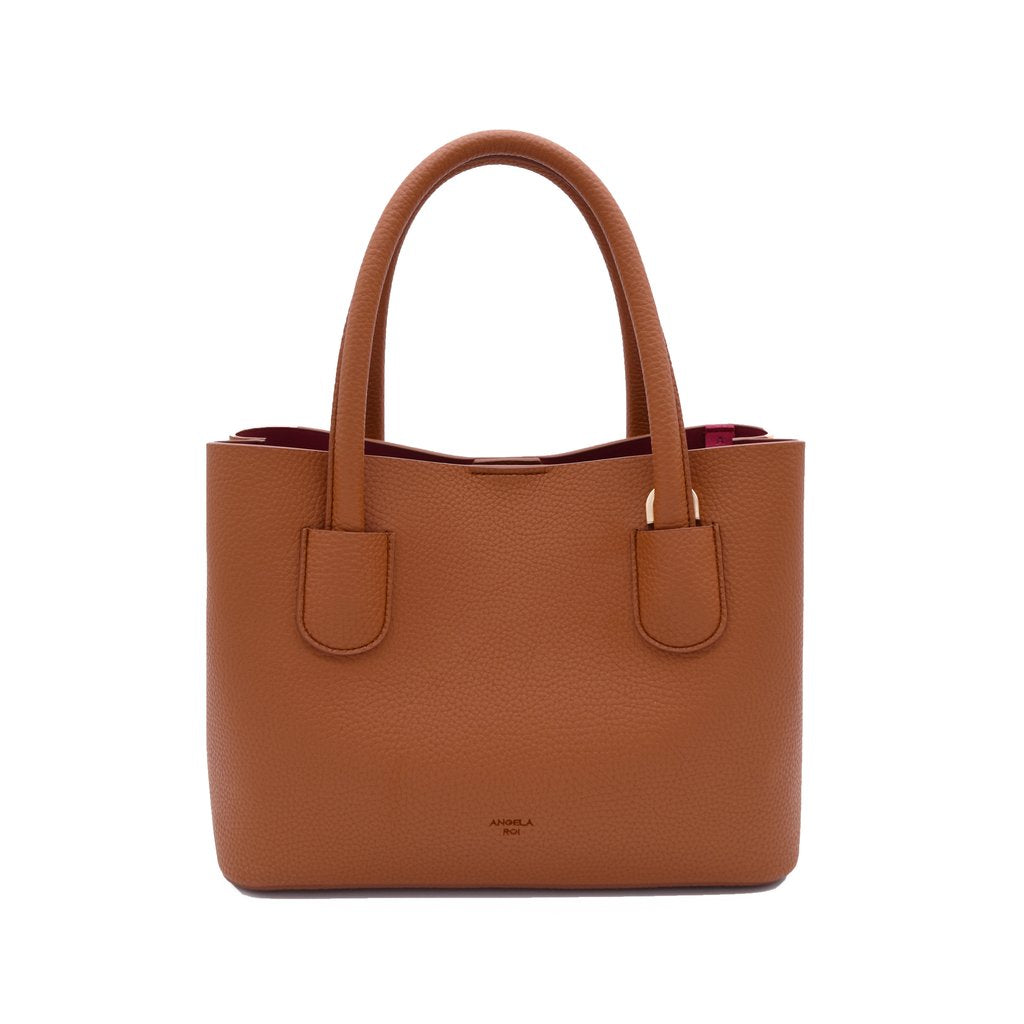 Cher Tote Mini with Signet in Brown