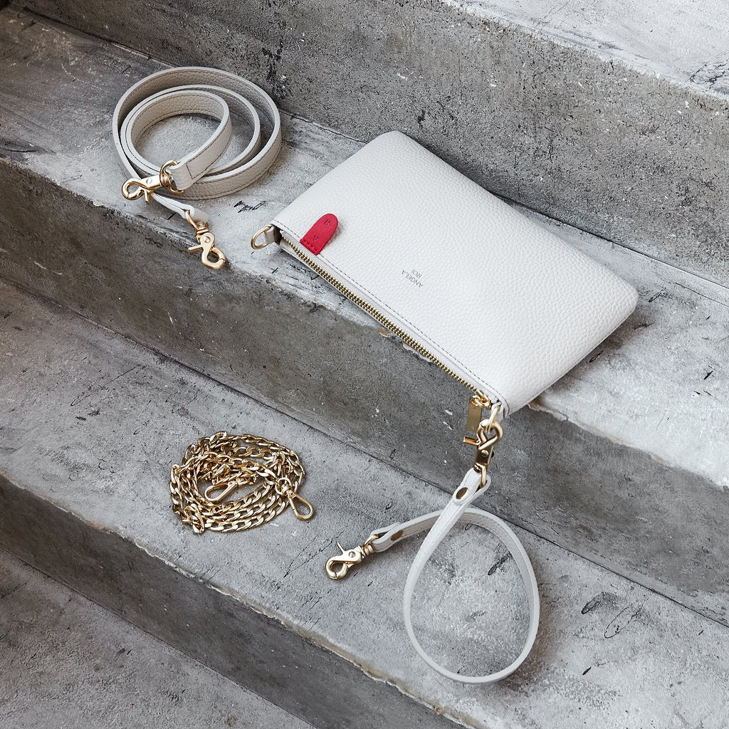 Zuri Multifunction Pouch with Signet in Cloud