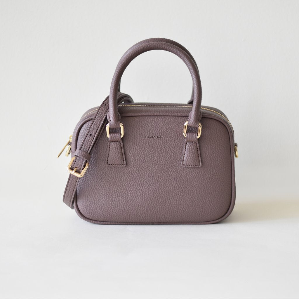 Angela Roi Vegan Barton Mini in Ash Rose, front view