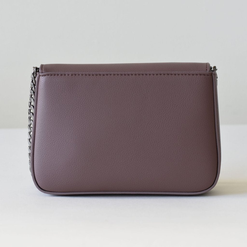 Hamilton Mini Chain Cross-body in Ash Rose
