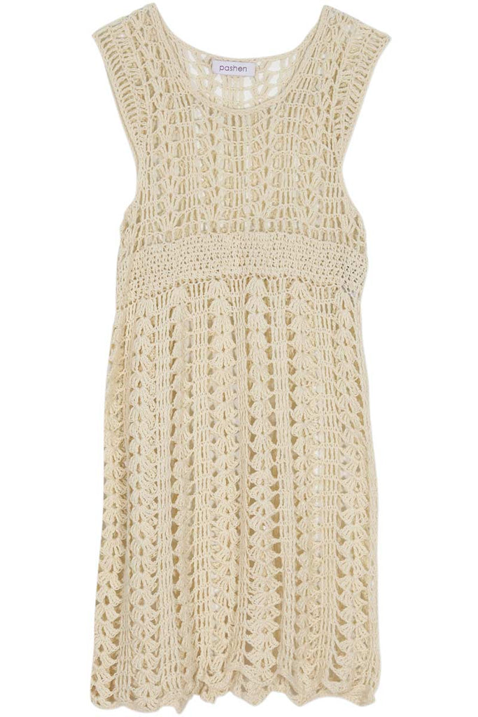 Pashen Collection Crochet dress front view
