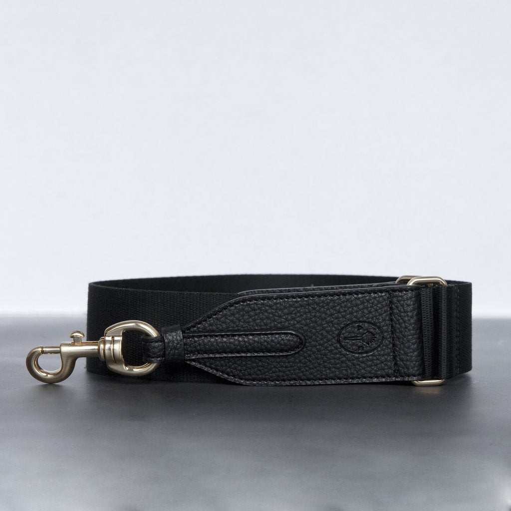 Webbing Bag Strap in Black