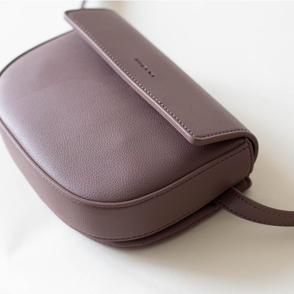 Hamilton Belt Bag / Cross-body in Ash Rose 3/4 view