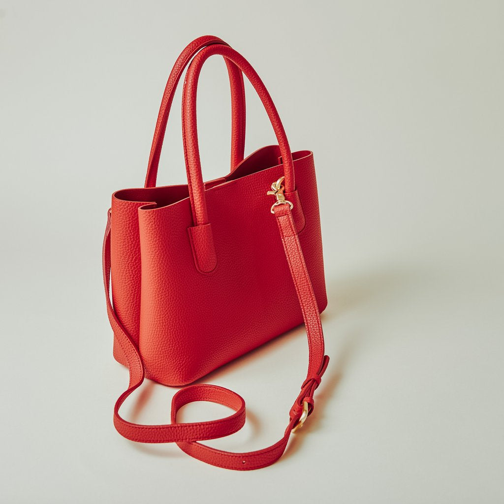 Cher Tote Mini in Red