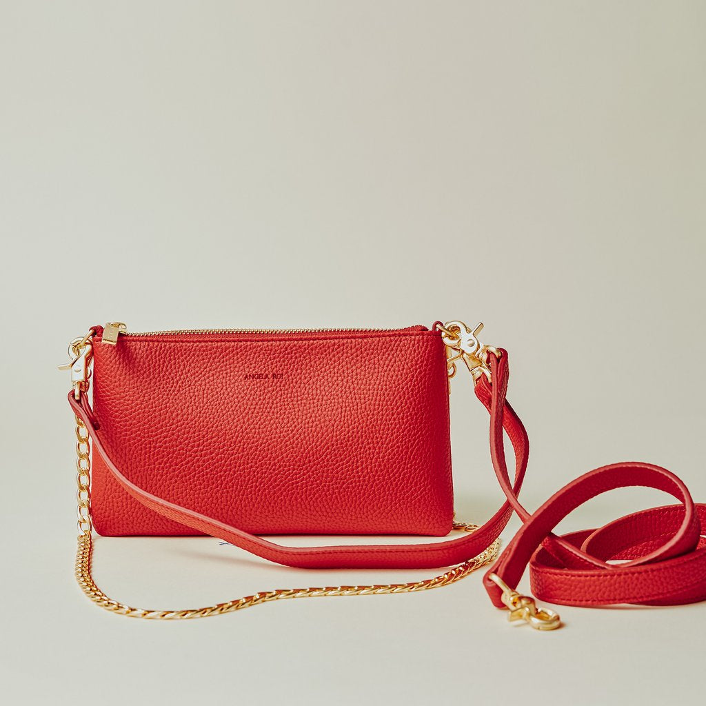 Zuri Multifunction Pouch in Red