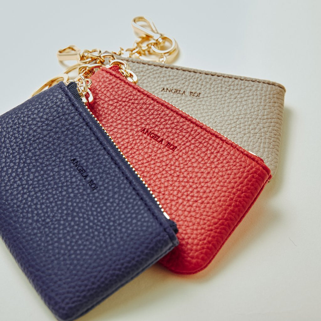 Zuri Card Pouch in Red