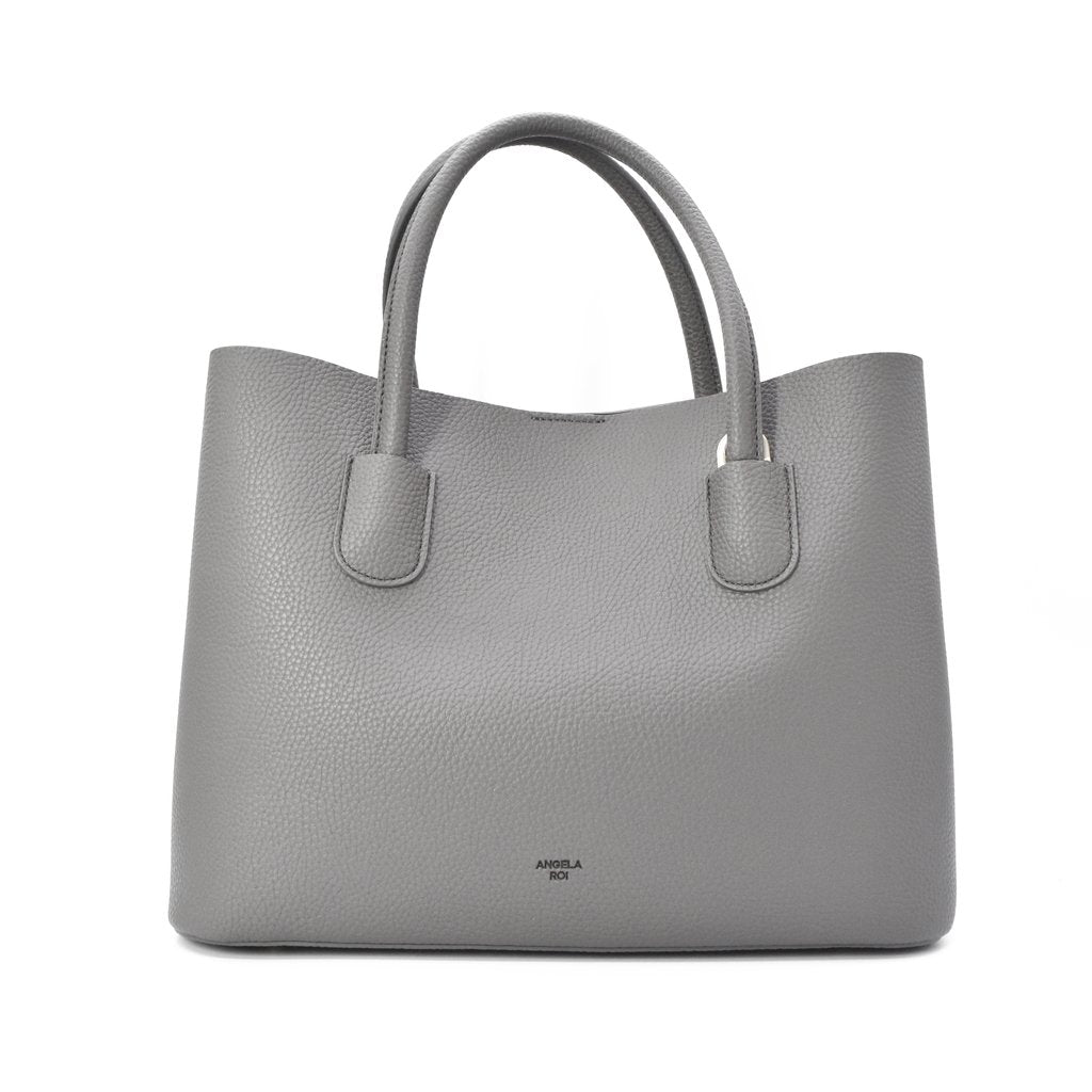 Cher Tote with Signet in Grey