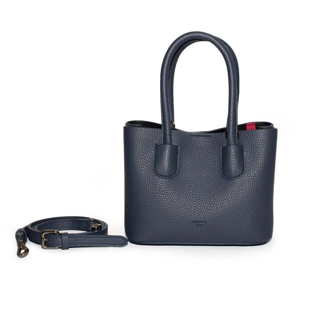 Cher Tote Micro with Signet in Navy