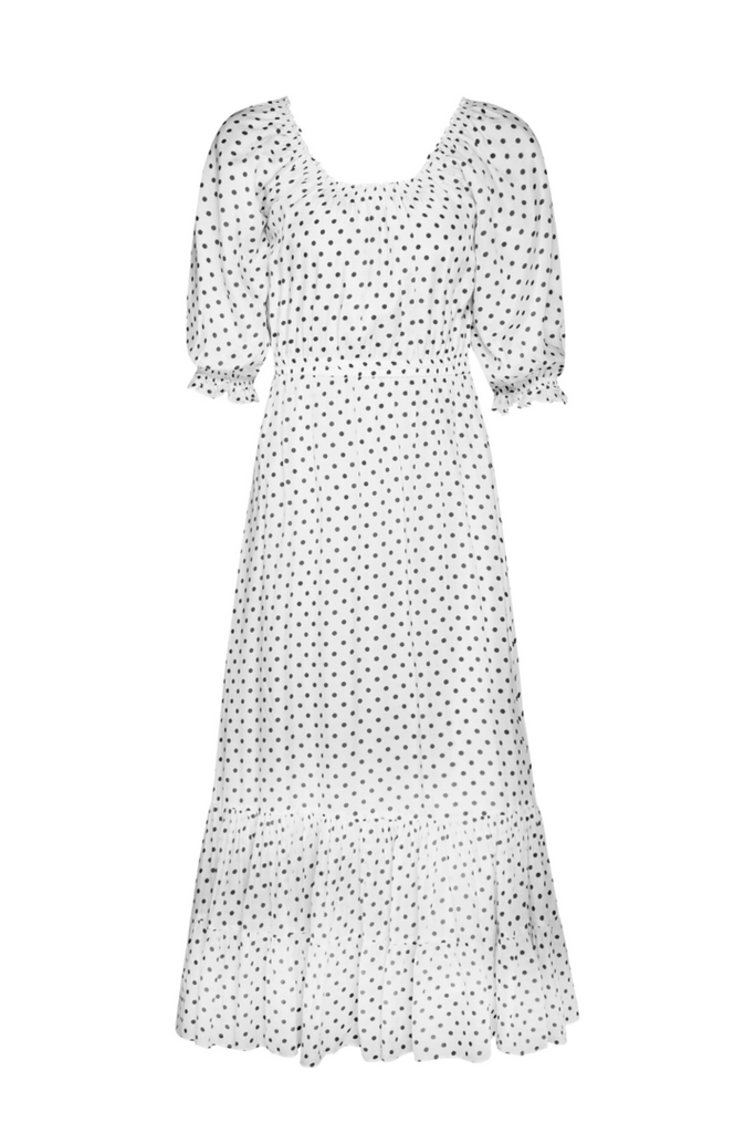 Berta Polka Dot Dress