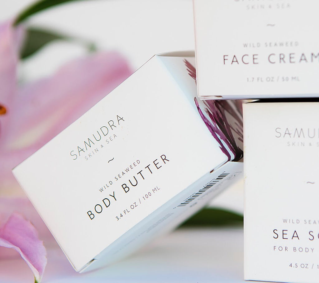 Samudra Skin & Sea Body Butter, packaging