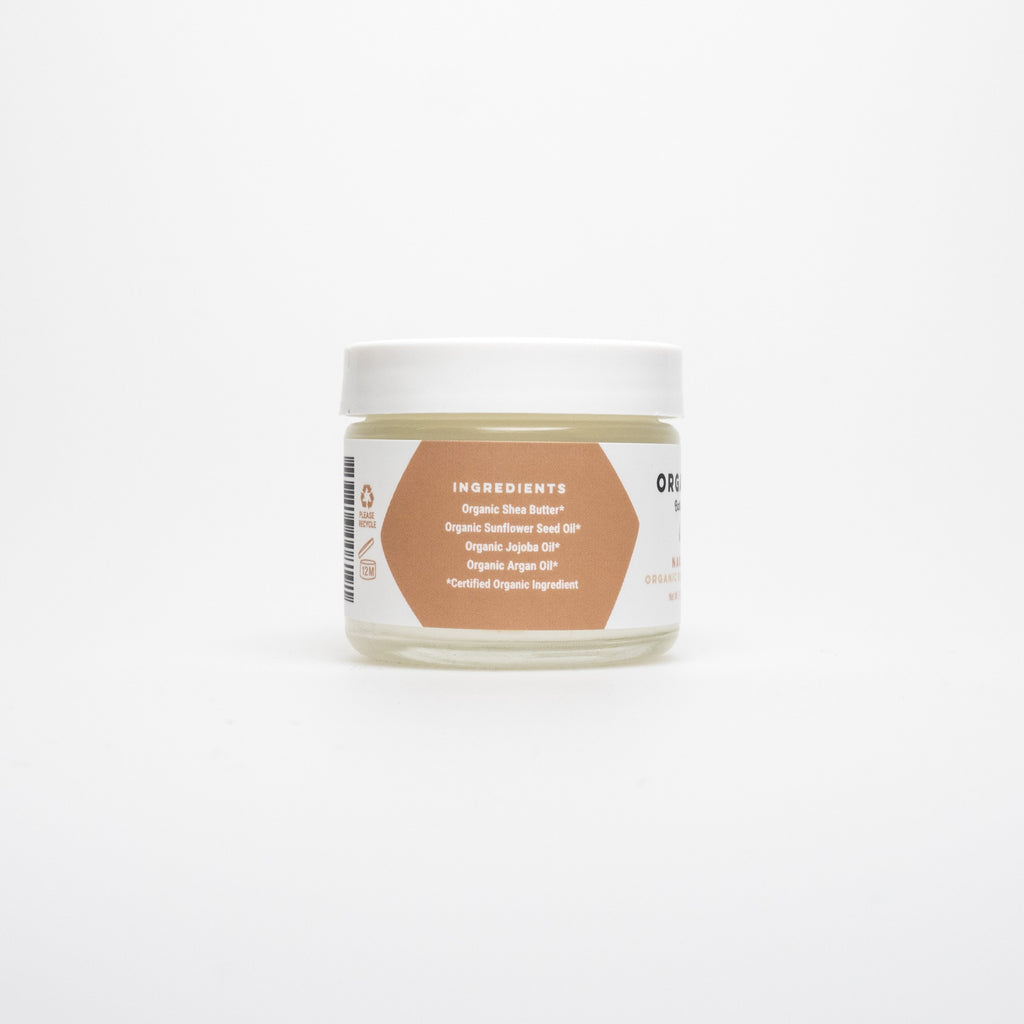 Drenched Organic Body Butter with Argan & Jojoba Oil