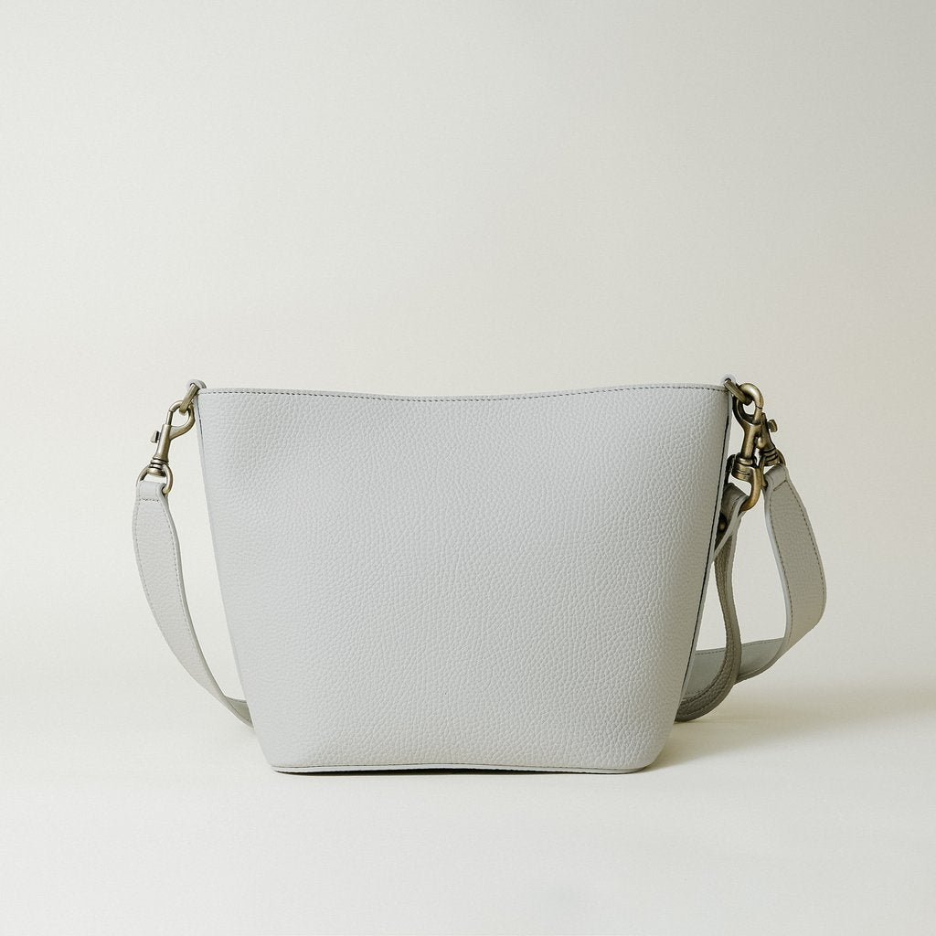 Angelou Mini Bucket in Light Gray