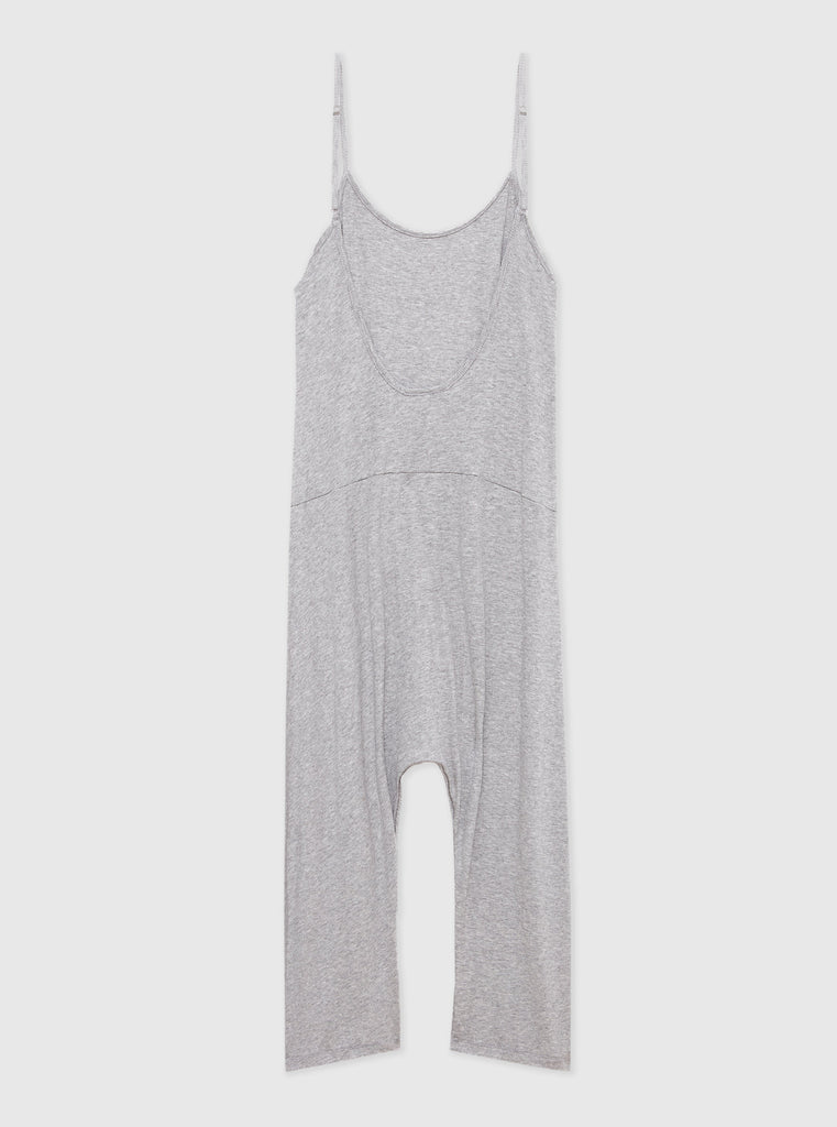 The Slouchy Romper - Grey