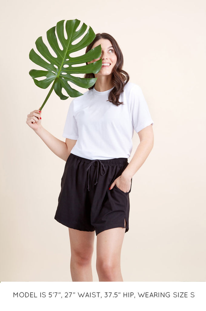 The High Waisted Sustainable Jogger Shorts