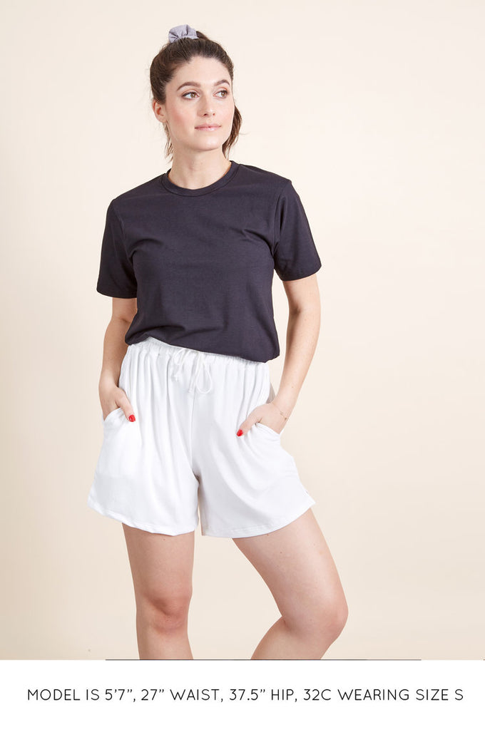 The High Waisted Sustainable Jogger Shorts - FINAL SALE