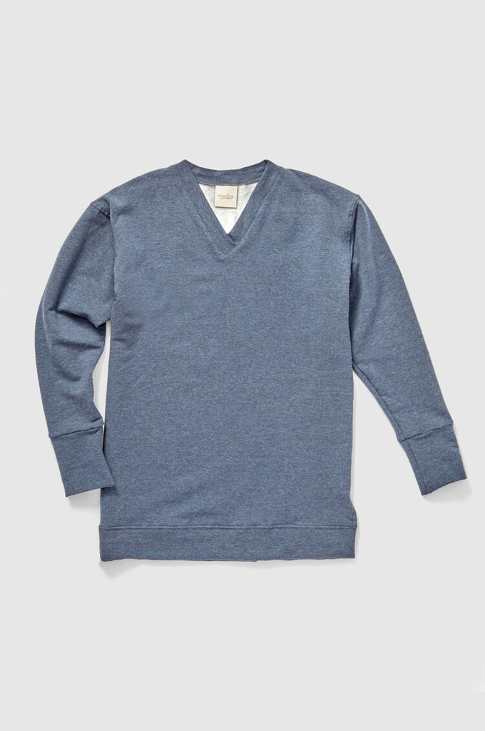The V Neck Fleece Sweatshirt