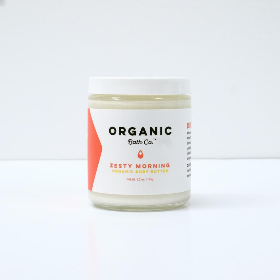 Organic Body Butter - Zesty Morning
