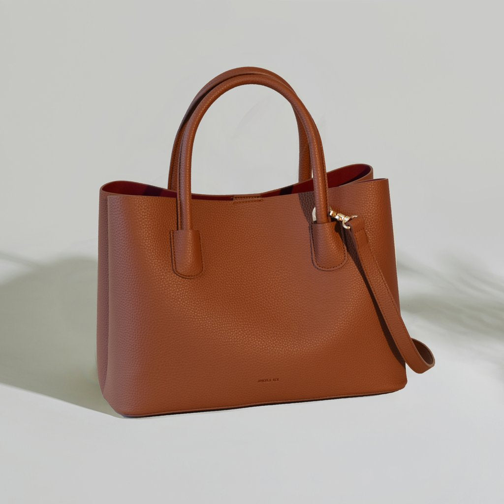 Cher Tote in Brown
