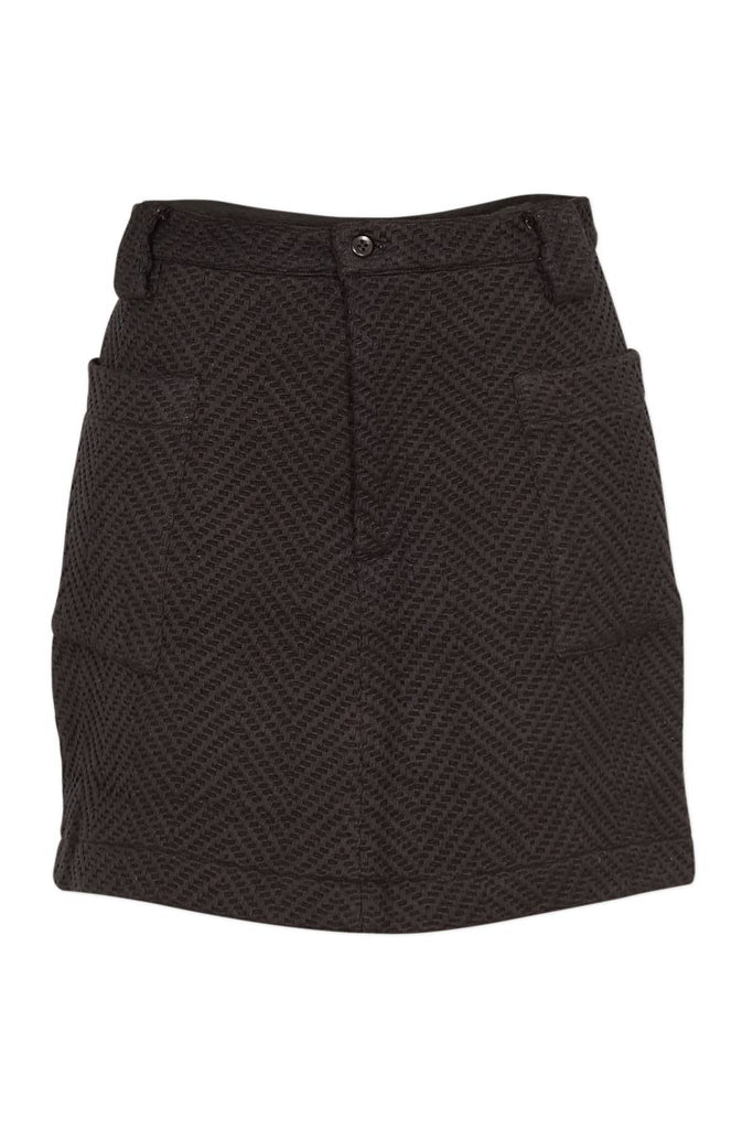 Wray Brown Cubist Skirt