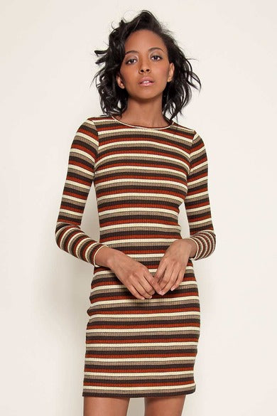 Delores Haze eco-friendly Marsha dress, on model