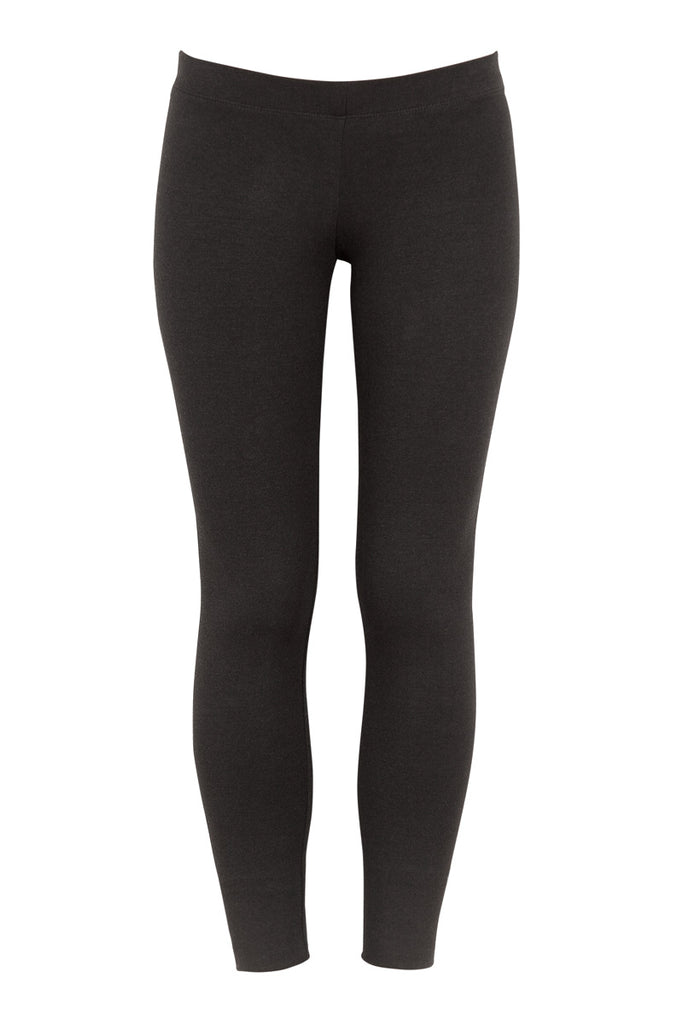 Miakoda Black Leggings, front view