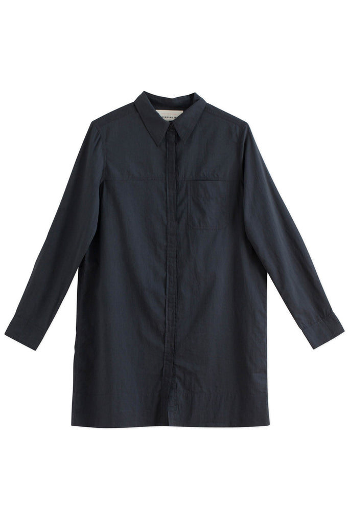 Thinking Mu Black Organic cotton Phantom tunic
