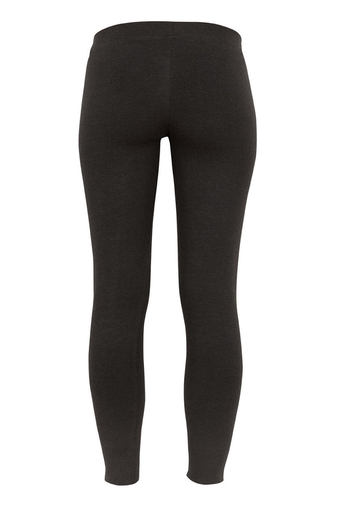 Miakoda Black Leggings, back view