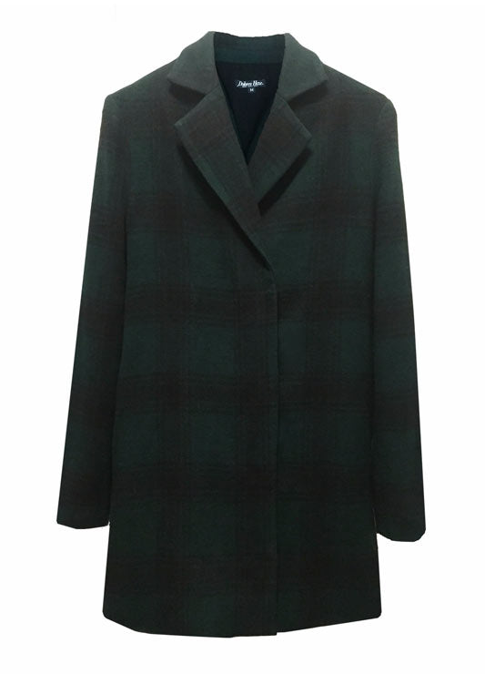 Delores Haze eco-friendly Andie Peacoat, front view
