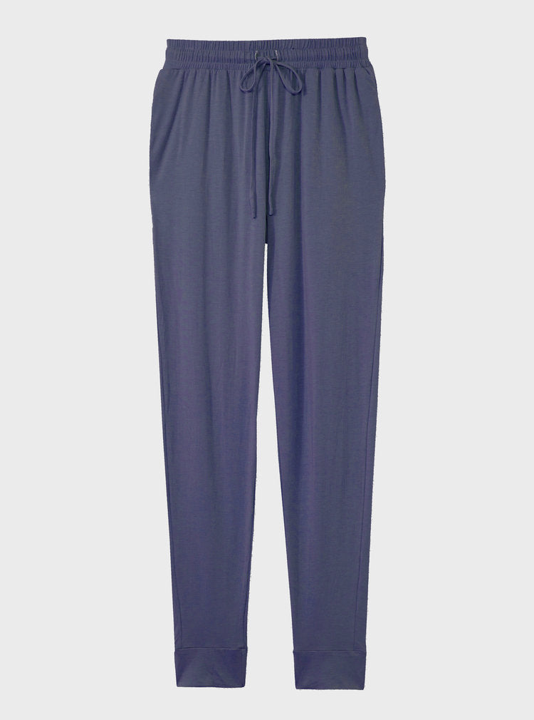The High Waisted Sustainable Jogger in navy