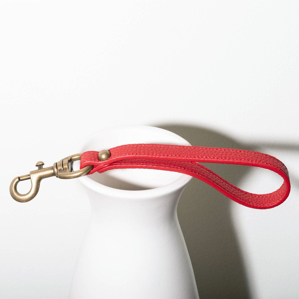 Angelou Hand Strap in red