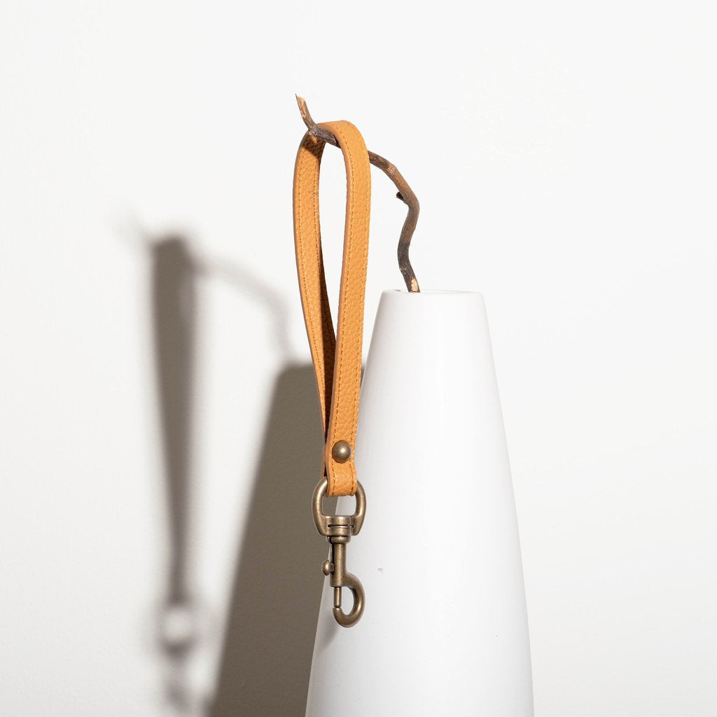 Angelou Hand Strap in mustard