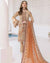 Beige Color Fox Georgette Unstitched Pakistani Salwar Kameez Suits