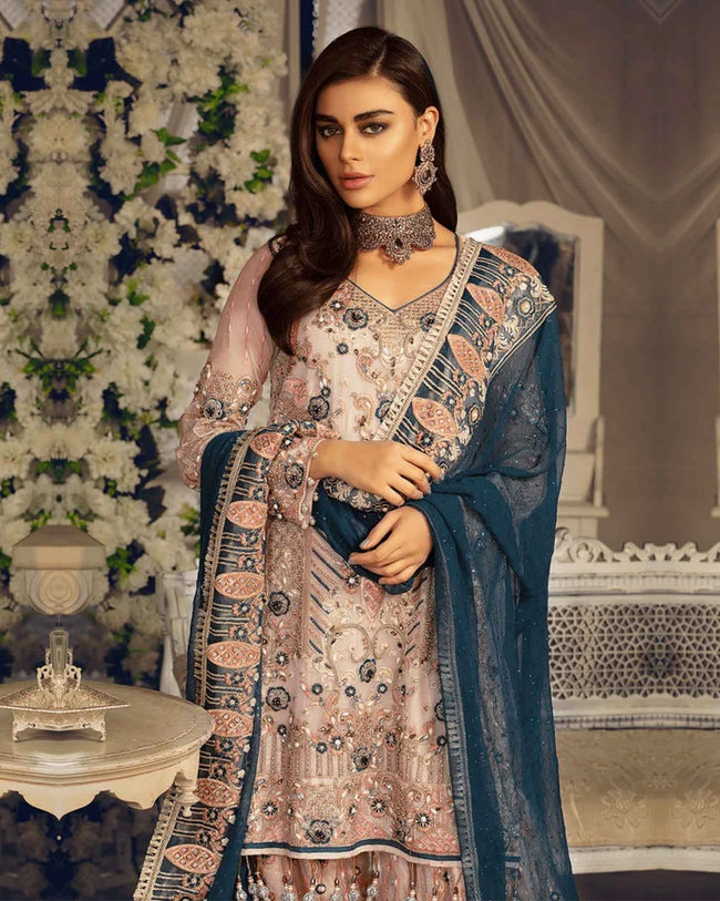 Emaan Adeel Bridal Vol – 2 | EA201 - 100% Original Unstitched Pakistani Suit