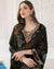 Amazing Black Color Fox Georgette Unstitched Pakistani Salwar Kameez Suits
