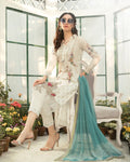 Beautiful White Color Summer Wear Pure Cotton Lawn Printed Suit