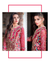 Red Color Bridal Wear Georgette Unstitched Pakistani Salwar Suits