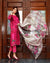 Pink Color Jam Cotton Printed Pakistani Pant Style Suits (Made in India)