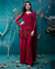 Dark Pink Color Georgette Unstitched Pakistani Salwar Kameez Suits