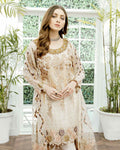 Pure White Color Unstitched Pakistani Dress Material Suit