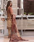 Tawakkal Fabrics Luxurious Affaire 3Piece Suit D-9090 -100% Original Dress Material Pakistani Salwar Kameez Suit