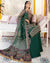 Green Color Butterfly Net Unstitched Pakistani Salwar Kameez Suits